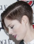 nuovi tagli - Coco Rocha with very short hair