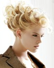 acconciature raccolte - curly hair - Richard Ward
