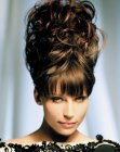 capelli raccolti – high hair-up style