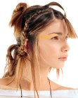 acconciature per le feste - upstyle with braid