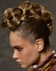 capelli raccolti - up-style with loose braid