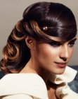 acconciature raccolte - metal hairband