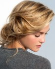 capelli raccolti - easy to make updo