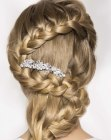 acconciature - braided hair