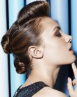 acconciature - double knot updo