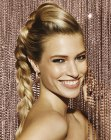 tagi di capelli - braided golden hair