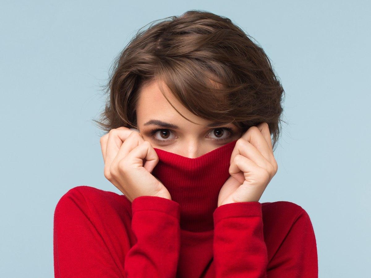 Taglio di capelli per naso lungo