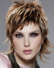 acconciature corte - short hair with a longer back