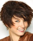 acconciature corte - short hair with layers