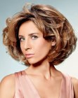 acconciature corte - short hairstyle with volume