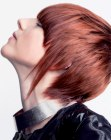 capelli corti – short and spiky red hair