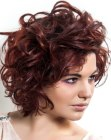 capelli corti – stylish short hair with curls
