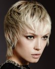capelli corti trendy – pearly blonde hair