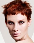 capelli corti - short and wispy hair