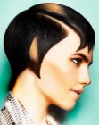 acconciature corte - molded shape hair