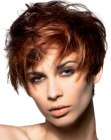 nuove acconciature - wild short hairdo