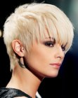 tagli corti trendy - pixie with bulk on top of the head