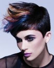 capelli corti - lifted short hair