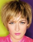 tendenze tagli corti – cute short hairdo