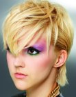 nuove acconciature - punky short hairstyle