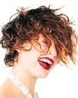 acconciature corte - tousled short hair