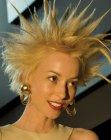 nuove acconciature - spiked hair for women