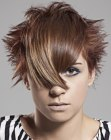 nuovi tagli corti - short hairstyle with spikes