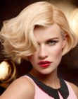 tagli di capelli – short bob with waves