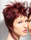 tagli corti - short hairstyle with long extensions