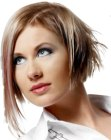tagli corti trendy – bob with long section