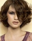 acconciature corte - short layered bob