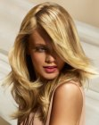capelli lunghi - long blonde hair with highlights