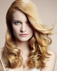 capelli lunghi - seductive style for long hair