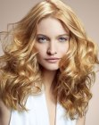 capelli lunghi - long hair with an airy aspect