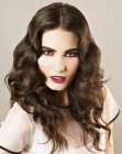 tagli di capelli lunghi - long vintage hairstyle