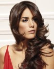 capelli lunghi - very long brunette hair