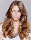 acconciature lunghe - classic long hairstyle
