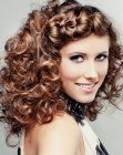 tagli lunghi - hairstyle with a wide braid