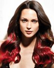 tagli capelli lunghi – changing hair colors