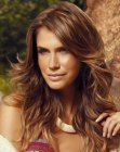 capelli lunghi - long hair with highlights