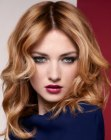 capelli lunghi - hair with a center part