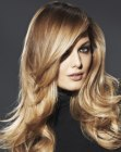 capelli lunghi - long hair with lightness