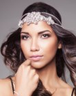 tagli lunghi - headpiece with crystals