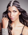 tagli lunghi - Indian brides headpiece