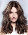 capelli lunghi - hair coloring with reflections