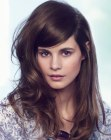 capelli lunghi - brunette summer look