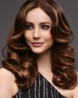 nuovi tagli - long brown hair with highlights