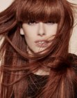 capelli lunghi – solid bangs