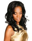 capelli lunghi – shiny black hair