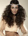 tagli lunghi – long curly hair
